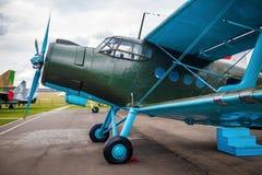 Retro airplane Stock Image
