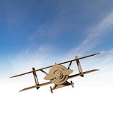 Retro airplane toy Stock Images