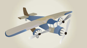 Retro Airplane Royalty Free Stock Images