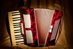 Retro akordeon Fotografia Stock