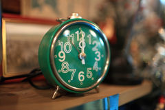 Retro alarm clock Stock Photography