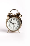 Retro alarm clock with bells Stock Images