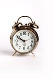 Retro alarm clock with bells Stock Images