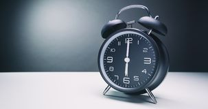 Retro Alarm Clock Stock Photos