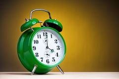 Retro alarm clock Royalty Free Stock Photo