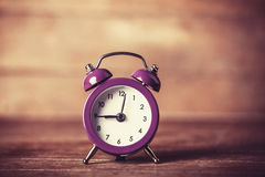 Retro alarm clock Royalty Free Stock Images