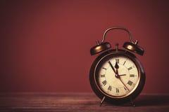 Retro alarm clock. Stock Photos
