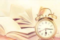 Retro alarm clock Royalty Free Stock Image