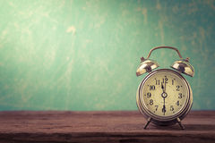 Retro alarm clock Stock Photography