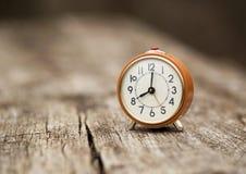 Retro alarm clock Royalty Free Stock Photos