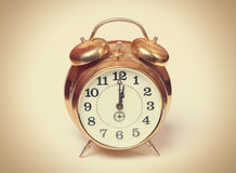 Retro alarm Stock Photography