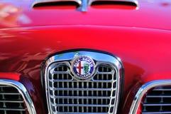 Retro alfa romeo. Radiator (engine cooling Stock Photos