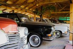 Retro- alte Autos der Sowjetunions Lizenzfreie Stockbilder