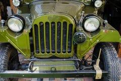 Retro- alte Autos der Sowjetunions Stockfoto