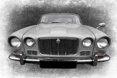 Retro- altes Auto Stockbild