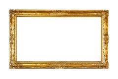 Retro- altes Goldfeld Lizenzfreie Stockfotografie