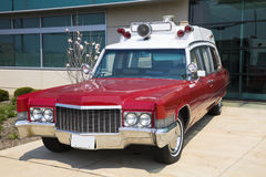 Retro ambulance Royalty Free Stock Photo