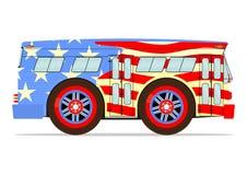 Retro american bus Stock Photos