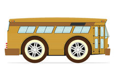 Retro american bus Royalty Free Stock Photos