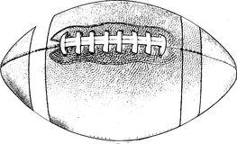 Retro American Football Stock Images