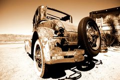 retro amerykański samochodowy bród zdjęcie royalty free