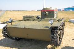Retro amphibian tank T-38. Stock Image