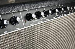 Retro amplificatore della chitarra Fotografie Stock Libere da Diritti