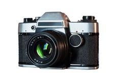 Retro analoge camera royalty-vrije stock afbeelding