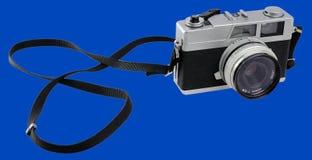 Retro- analoge Foto-Kamera für 35 Millimeter-Film lizenzfreie stockbilder