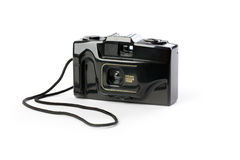 Retro analogue compact camera Royalty Free Stock Photo
