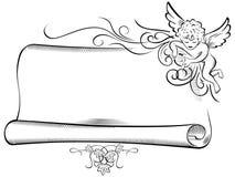 Scroll Angel Stock Illustrations – 470 Scroll Angel Stock ...