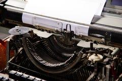 Retro- angeredetes Bild einer alten Schreibmaschine Lizenzfreies Stockfoto