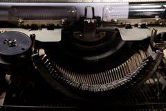Retro- angeredetes Bild einer alten Schreibmaschine Lizenzfreies Stockbild