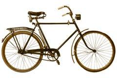 Retro- angeredetes Bild eines Fahrrades des 19. Jahrhunderts Stockfotos