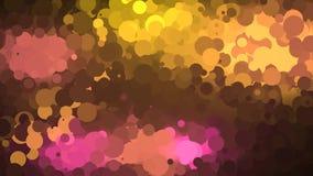 Retro animazione del fondo del cerchio archivi video