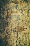 Retro antieke grungy muur, groot voor achtergrond stock afbeelding