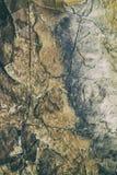 Retro antieke grungy muur, groot voor achtergrond stock fotografie