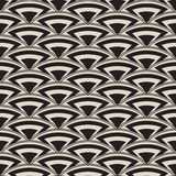 Retro- antikes nahtloses Muster in der Art- DecoArt stockfotografie