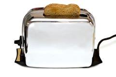 Retro apparecchio del tostapane Fotografia Stock