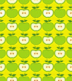 Retro apples seamless pattern Royalty Free Stock Photo