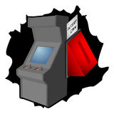 Retro arcade Royalty Free Stock Photos