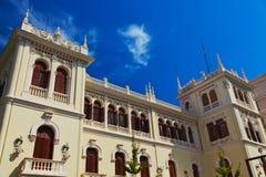 Retro architektura przy Granada Hiszpania zdjęcie stock