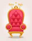 Retro Armchair Royalty Free Stock Photo
