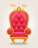 Retro armchair Royalty Free Stock Photo