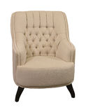 Retro armchair isolated Royalty Free Stock Photography