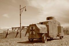 Retro army transport WW1 Royalty Free Stock Photos