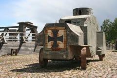 Retro army transport WW1 Royalty Free Stock Image