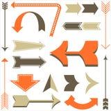 Retro Arrow Designs Stock Images
