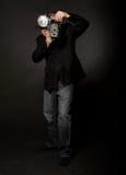 Retro- Art-Fotograf Lizenzfreies Stockbild