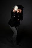 Retro- Art-Fotograf Lizenzfreies Stockfoto